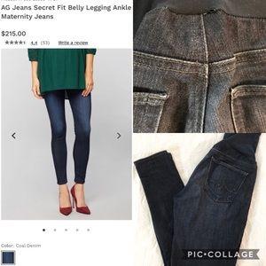 AG maternity jeans 27 Secret Fit Belly Legging